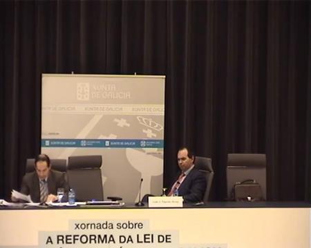 Edición de Pontevedra - Luís Míguez Macho, profesor titular da Universidade de Santiago de Compostela  - Novas Xornadas sobre A Reforma da Lei de Ordenación Urbanística de Galicia